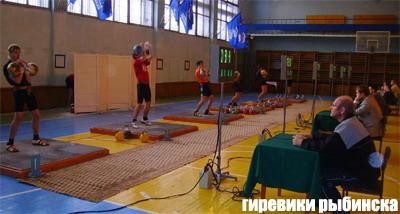 Первенство гРыбинска памяти Андрея Нюнькина