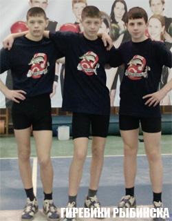 Первенство России среди юношей 2012 по гиревому спорту